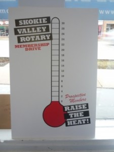 big goal thermometer
