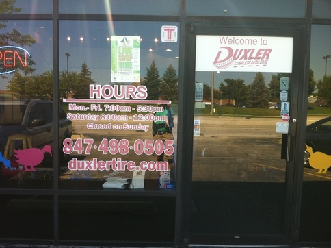 Vinyl window lettering signs n frames Custom vinyl windows online