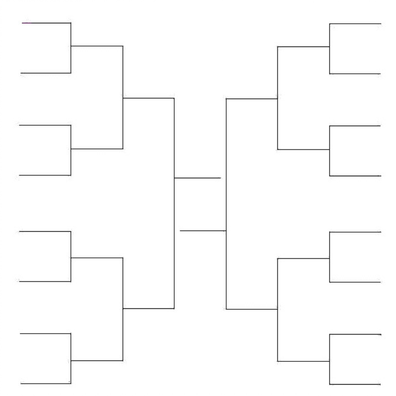 Dry Erase Tournament Bracket Sheet Boards