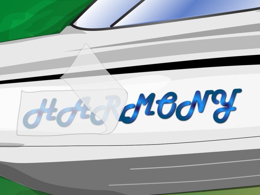 Custom Vinyl Boat Lettering 87