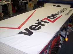 custom verizon banner