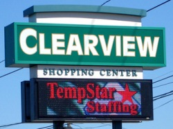 store front LED sign